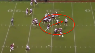 Watch A NC State Safety Absolutely Pulverize An Opposing Quarterback With A Brutal Sack