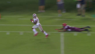 Check Out Braxton Miller's First Touchdown As A Wide Receiver