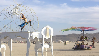 This Mega-Collection Of Burning Man Photos Will Either Leave You Planning To Go Next Year Or Glad You Stayed Home