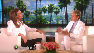 Ellen DeGeneres Questions Caitlyn Jenner's Lukewarm Support Of Gay Marriage