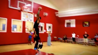 Watch Nets Rookie Rondae Hollis-Jefferson Dunk All Over A Small Child