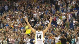 Watch Dirk Nowitzki Get A Standing Ovation After Perhaps His Final Game For Germany