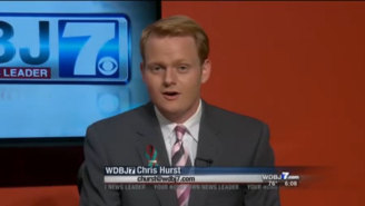 The Boyfriend Of The Reporter Who Was Murdered On Live TV Made An Emotional Return To The Anchor's Desk