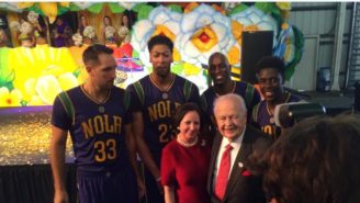 Here Are The New Orleans Pelicans' Revived Mardi Gras Uniforms…With Sleeves
