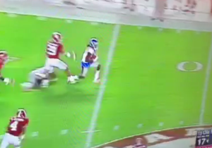 This Ole Miss Touchdown Against Alabama Is One Of The Most Ridiculous Ones You'll Ever See