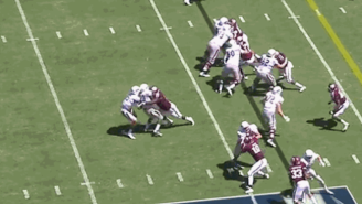 Here's Proof That Texas A&M's Daylon Mack Is An Absolute Destroyer Of Backfields
