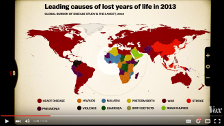 Diarrhea And Drifting: Map Shows No. 1 Cause Of Death In Every Country