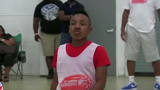 Muggsy Bogues' Fifth-Grade Grandson Already Has Handles Like His Grandfather