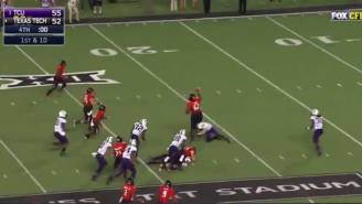 Texas Tech Almost Pulled Off An Insane Game-Winning Play To Beat TCU