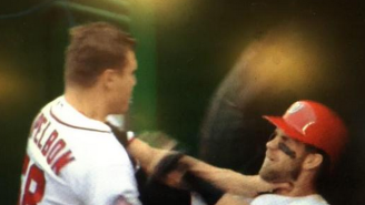 Here's Video Of The Dugout Fight Between Bryce Harper And Jonathan Papelbon