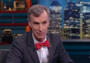 Bill Nye Defends Himself From Some Heated Mars Hate On 'The Nightly Show'