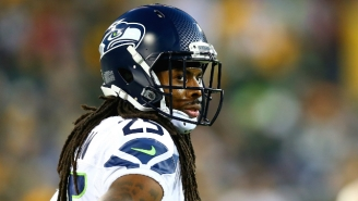 Richard Sherman Threatened To 'Ruin' A Reporter's Career After Being Asked Questions He Didn't Like