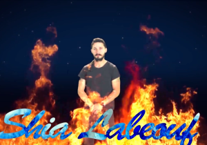 "This Daft Punk'ed Shia LeBeouf ""Do it"" Video Is Amazing, a Little Late"