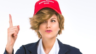 For The Ladies, A 'Sexy Donald Trump' Halloween Costume Now Exists