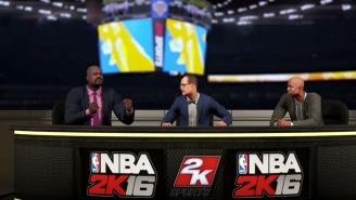 Here's The 'NBA 2K16' Trailer For Shaq, Ernie And Kenny's Adorable Buffoonery