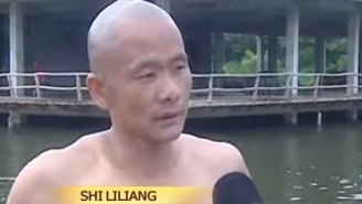 While You Were Sleeping In, This Shaolin Monk Learned To Run On Water