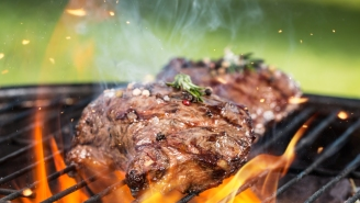 Mad Beef: Woman Struck By Flying Brisket.