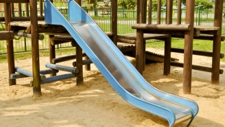 An Alleged 'Slide F*cker' Has Been Banned From All Parks And Playgrounds