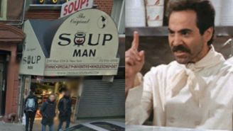 Experience The Original Soup Man, The Coffee Shop, And Other 'Seinfeld' Landmarks