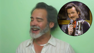 Is This Man The Spanish Version Of Bill Murray's Nick The Lounge Singer?