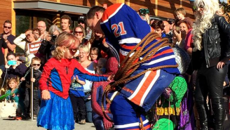 How The Edmonton Oilers Helped Create A Special Day For This Brave Little Cancer Fighter