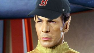 The Red Sox Are Inexplicably Having A 'Star Trek' Night