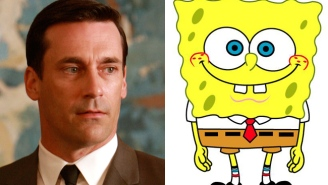 Jon Hamm Will Reprise His 'Mad Men' Role One More Time For An Episode Of 'SpongeBob SquarePants'