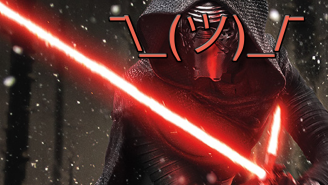 99 days until Star Wars: Based on his lightsaber, Kylo Ren has no idea what he's doing
