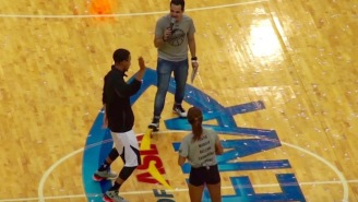 Watch Steph Curry Do The 'Nae Nae' That He Learned From His Daughter Riley