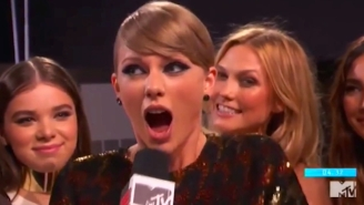 Conspiracy Theorists Think Taylor Swift Farted On Camera At The VMAs, So Take A Listen