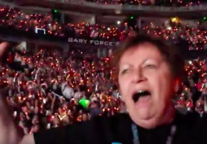 This Grandma Loses Her Mind When Mick Jagger Shows Up At Taylor Swift's Latest Concert