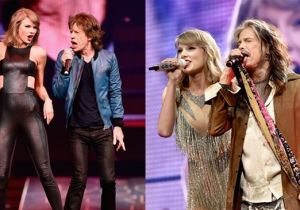 Taylor Swift Rocked Through Time With Mick Jagger And Steven Tyler In Nashville