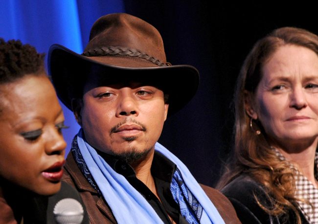 Terrence Howard stopped wearing crazy hats about a year and a half ago, and I feel like my life is emptier for it.