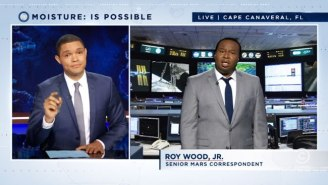 New 'Daily Show' Correspondent Roy Wood Discusses The Odds Of Black People On Mars