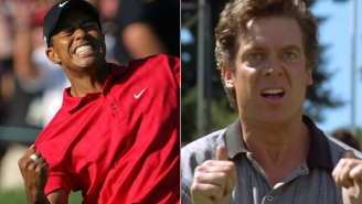 Tiger Woods And Shooter McGavin Came Together For A Wonderful Selfie