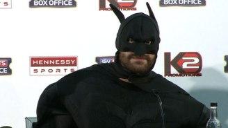 This Boxer Dressed Up As Batman To Challenge Wladimir Klitschko