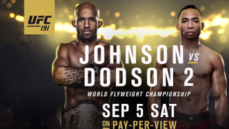 Get Hyped For UFC 191: Johnson Vs Dodson 2 With These Awesome Fights