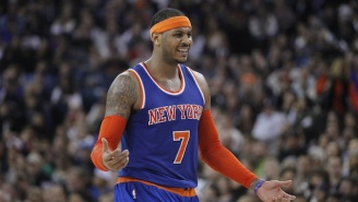 Carmelo Anthony Has An Open Summer, So Of Course He's Excited About The Olympics