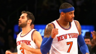 Jose Calderon Says 'It's Too Early' For The Knicks To Talk About The Playoffs