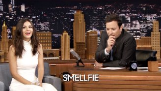 Victoria Justice And Jimmy Fallon Guess The Definition Of Urban Dictionary Terms