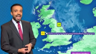 This Weatherman Perfectly Pronounces The 58-Letter Name Of A Welsh Town