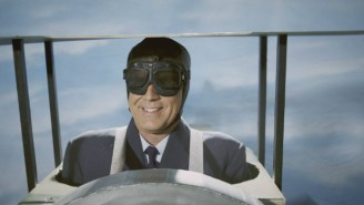 Here's Will Ferrell As Fighter Pilot, Spy, And Novelist Roald Dahl On 'Drunk History'