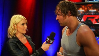 Dean Ambrose And Renee Young Got Married By Using Yelp