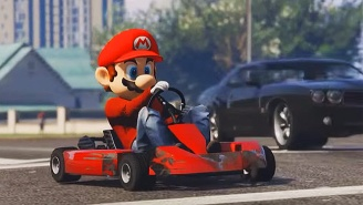 'Mario Kart' Mayhem Comes To 'GTA V,' Thanks To New Mods