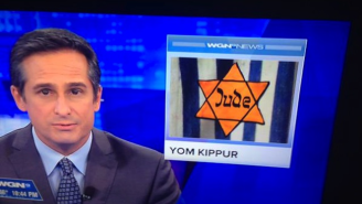 WGN News In Chicago Used An Unfortunate Image To Accompany Their Segment On Yom Kippur