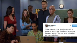 Dan Harmon Decided To Live Tweet The 'Community' Porn Parody With Magical Results