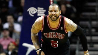 Here's The Story Behind Carlos Boozer Painting His Hair