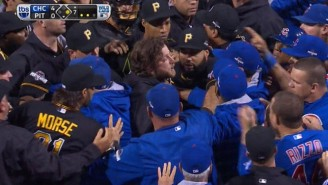 The Cubs And Pirates Cleared The Benches After Jake Arrieta Was Hit With A Pitch