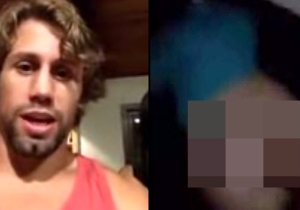 This Woman Walked Into A UFC Fighter's Home, Pulled Down Her Pants And Pooped Everywhere