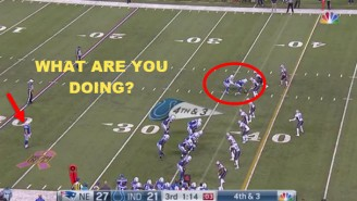 We Finally Have An Explanation For The Colts' Fake Punt, And It Still Doesn't Make Sense